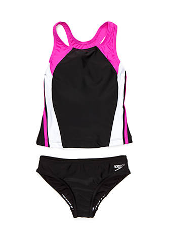 Speedo Girls 2-Piece Infinity Splice Tankini