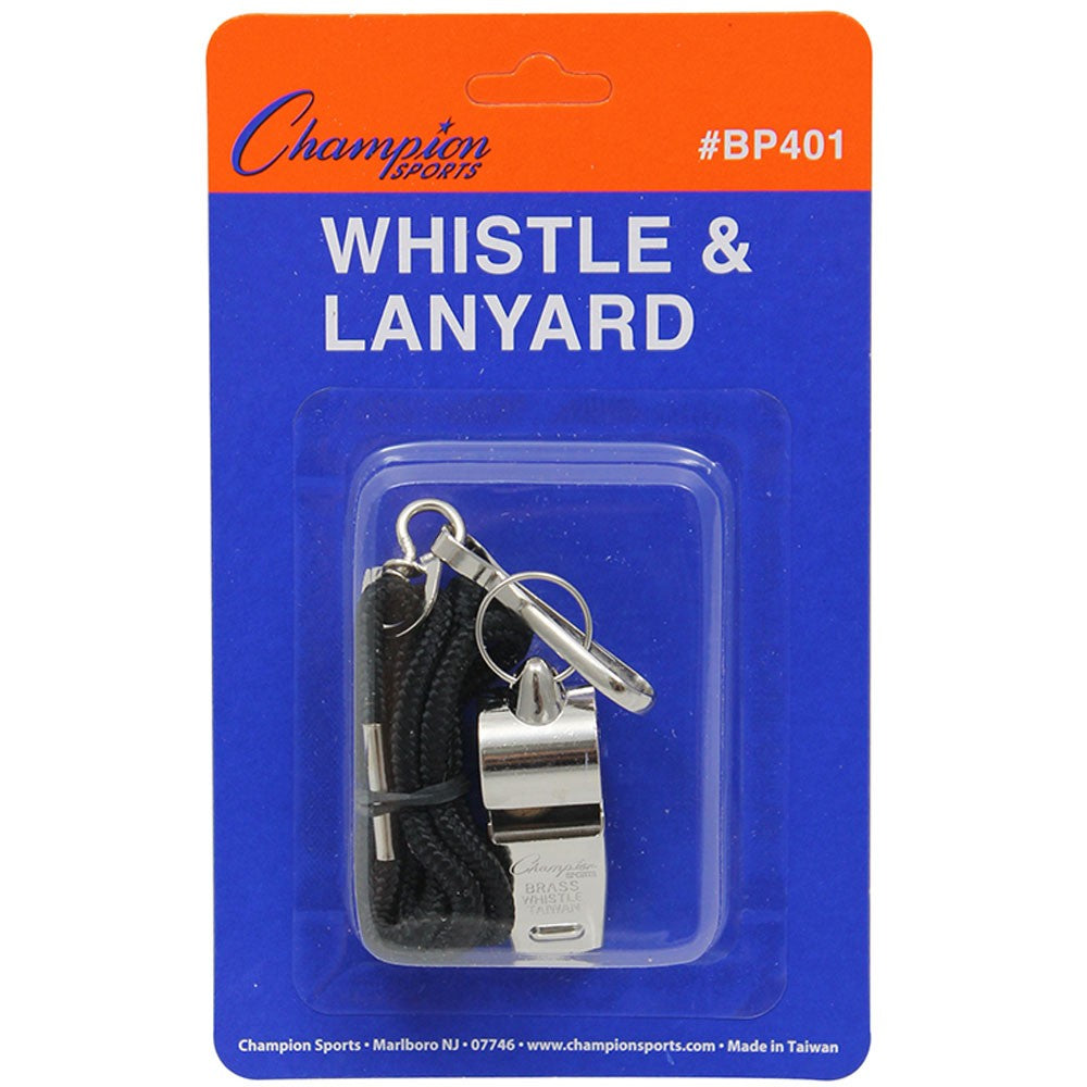 Champion Whistle With Lanyard