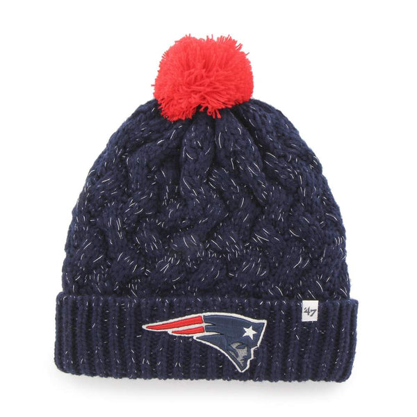 '47 Sports Fiona Cuff Knit Patriots Hat (Infant)