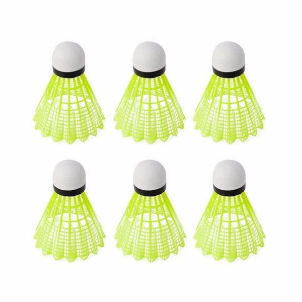 Salaun Sports Aerovite S8 White Nylon Badminton Shuttlecocks