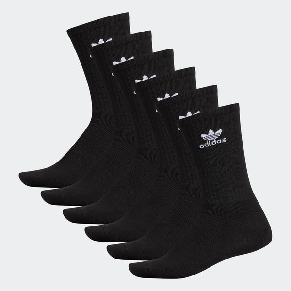 Adidas Men's Cushioned Crew Socks 6 Pack