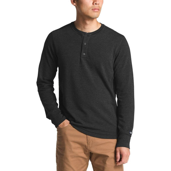 The North Face Men's Long Sleeve Terry Henley