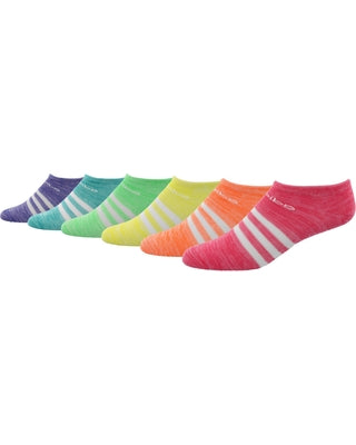 Girls Adidas 6-pack No-Show Sneaker Socks