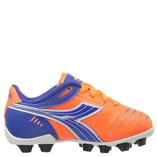 Youth Diadora Cattura Soccer Cleat Orange/Royal