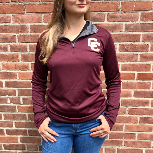 CC Women's Badger Wicking Quarter Zip
