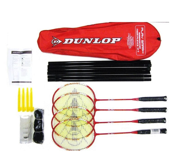 The Dunlop Play Badminton Set