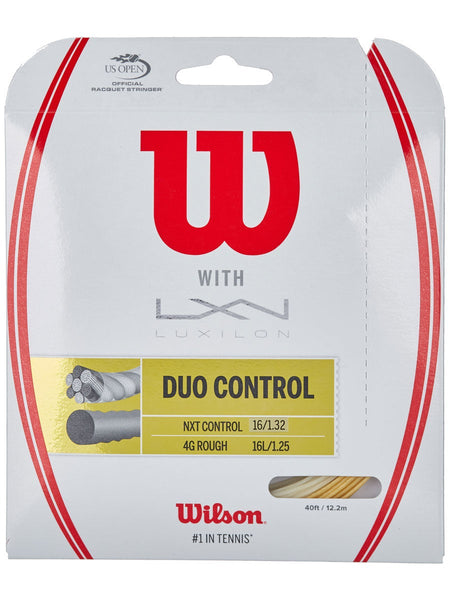 Wilson Duo Control 4GR 125 & NXT Control 16 String