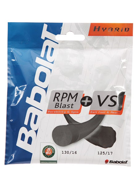 Babolat RPM 17G + VS Touch 16G Tennis String