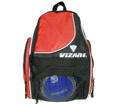 VIZARI SOLANO RED SOCCER BACKPACK