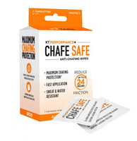 KT PERFORMANCE+® CHAFE SAFE ™ ANTI-CHAFING WIPES