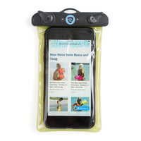 New Wave Waterproof Phone Case - Universal Dry Pouch