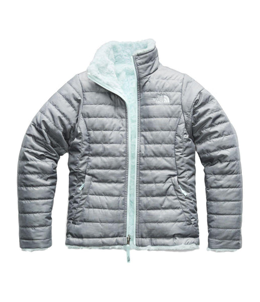 The NorthFace Girls' Reversible Mossbud Swirl Jacket