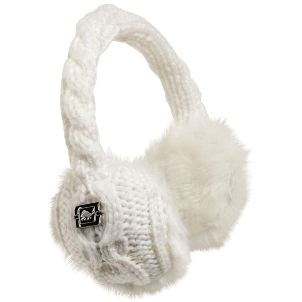 TurtleFur Ear Muffin Faux Fur Lined Earmuffs