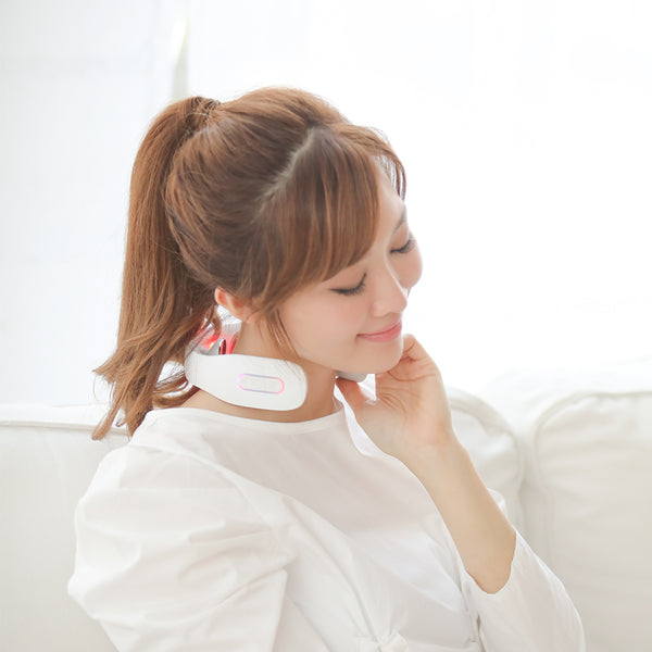Wireless Portable Neck Massager with Electrotherapy - Healthcare Shops