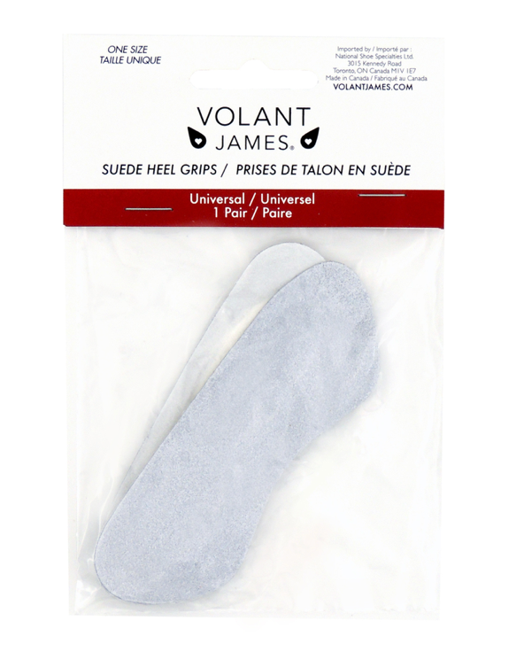 Volant James - Suede Heel Grips - Healthcare Shops