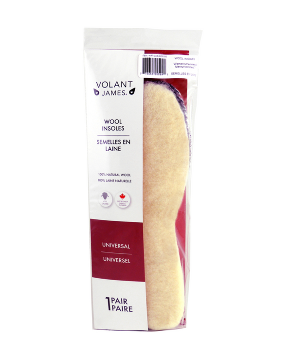 Volant James - Wool Insoles - Healthcare Shops