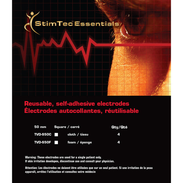 StimTec Essentials Tens Pads - Healthcare Shops