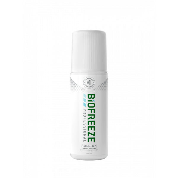 Biofreeze Professional Pain Relieving Roll-on - 3 OZ. - GREEN - Healthcare Shops