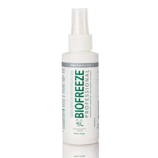 Biofreeze Professional Pain Relieving Spray - 4 OZ. - Healthcare Shops