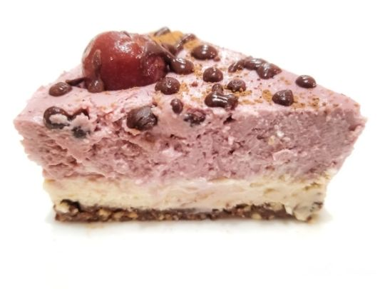 Keto Chocolate Cherry (Black Forest) Cheesecake