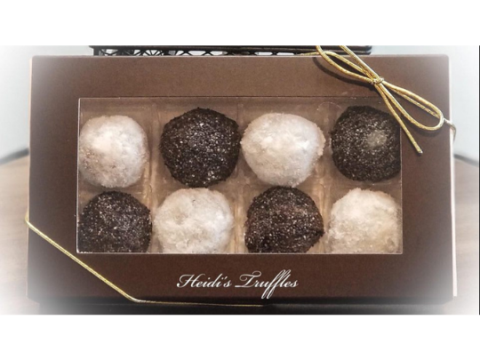 Gourmet Rum and Coconut Truffles Giftbox
