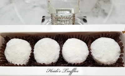 Keto Coconut Hazelnut Energy Dessert Balls Fat Bombs. 4/8