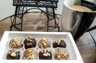 Gourmet Chocolate Almond Truffles Giftbox