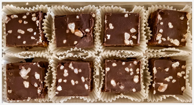 Salted Caramel Chocolate Bar Holiday Gift Box
