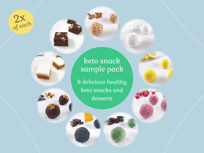 Keto Snacks Desserts Sample Pack