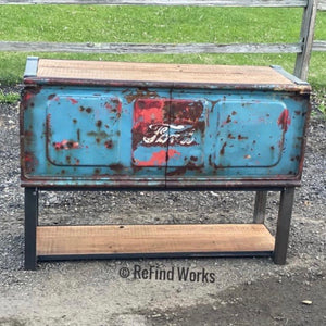 AVAILABLE CUSTOM Ford tailgate cabinet