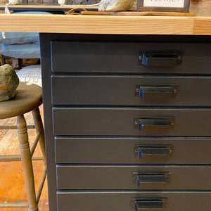 Vintage drawer unit - rolling island