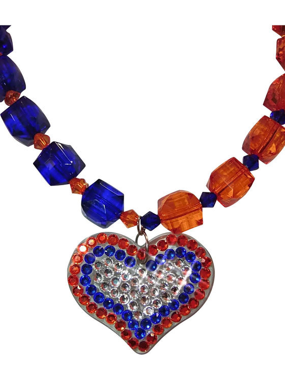 New Team Heart Necklace