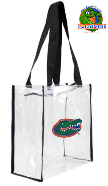 Gameday Clear Zippered Tote - UF Policy Compliant