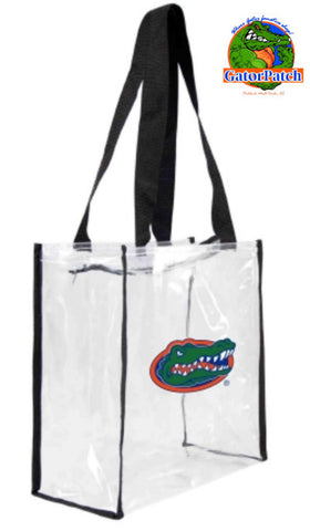 Gameday Clear Zippered Tote UF Policy Compliant