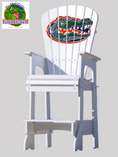 Gators Logo Lifeguard Adirondack Chair