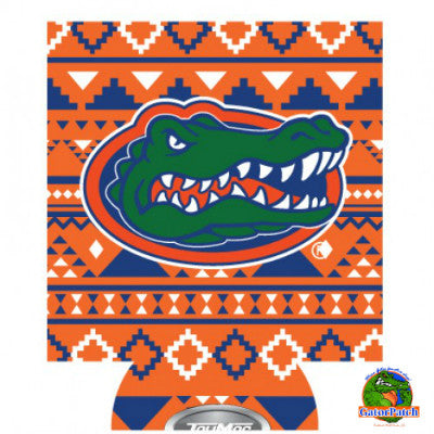 Gators Logo Can Hugger - Aztec