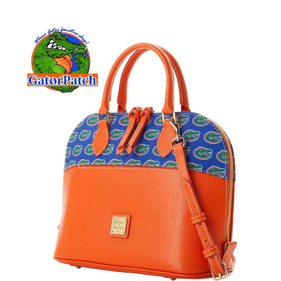 NEW Dooney & Bourke Florida Zip Zip Satchel