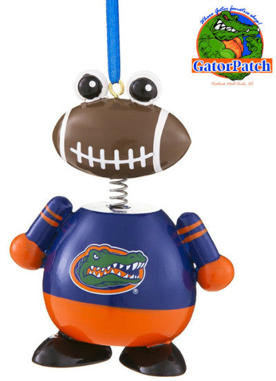 Gators Ball Head Ornament