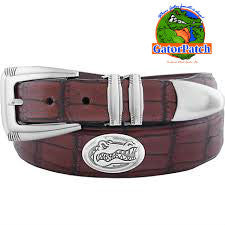 Gator Skin Embossed Belt