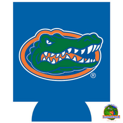 Gators Logo Can Hugger - Blue