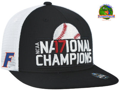Gators National Championship Flat Bill Cap