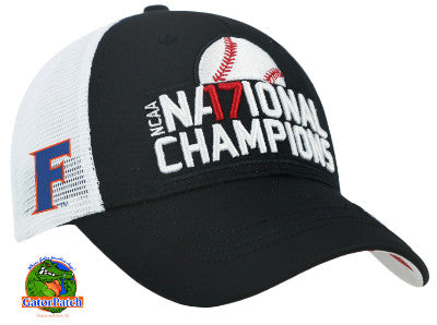 Gators National Champions Curved Bill Cap