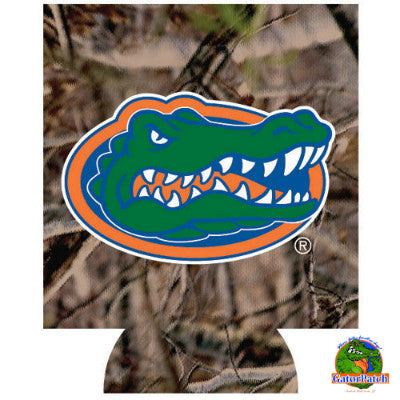 Gators Logo Can Hugger - Camo