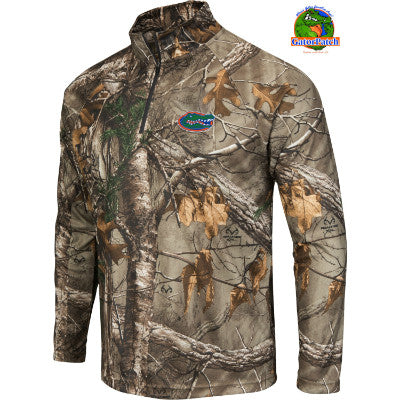 Gators Realtree Camo Quarter-Zip Windbreaker