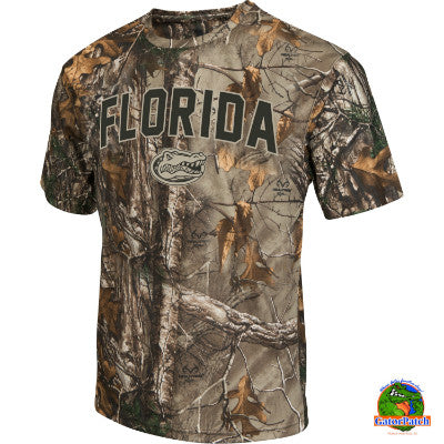 Gators Realtree Camo Tee