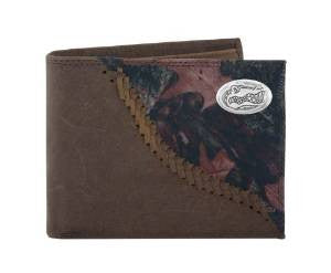 Camo Bi-fold Leather Wallet