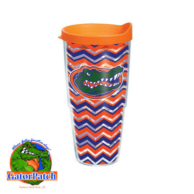 Gators Chevron 24 oz Tervis