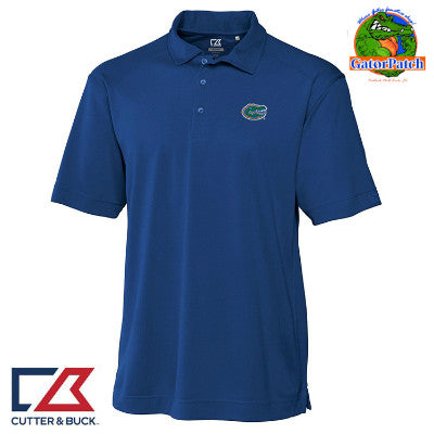 """NEW"" Cutter & Buck Blue DryTec Polo"