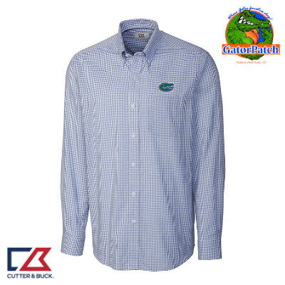 """NEW"" Cutter & Buck Easy Care Tattersal Shirt"