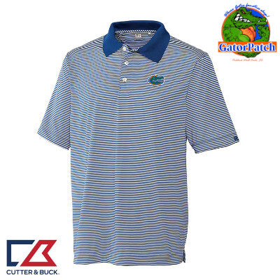 """NEW"" Cutter & Buck DryTec Stripe Polo"